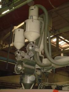 JSW 005 Бункера вакуумзагрузчики  материала, дозаторы цвета