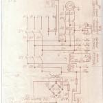 Электрическая схема термопластавтомата ДЕ 3330Ф1